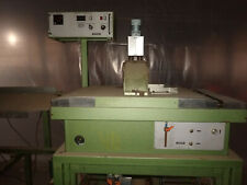 Ide Traveling Cut Saw Model# D7302, with dump table, accumulator, very low time
