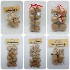 Decopatch Baubles, Paper Mache Christmas Decoration Craft