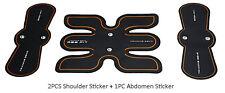 Muscle Training Gear Supply Set 2PCS Shoulder Sticker + 1PC Abdomen Sticker