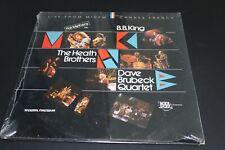 Pat Metheny, Dave Brubeck, BB King - Kool Jazz Live From Midem LP Sealed!