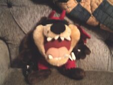 LOONEY TUNES TRICK OR TREAT TAZMANIAN DEVIL IN DEVIL COSTUME PLUSH