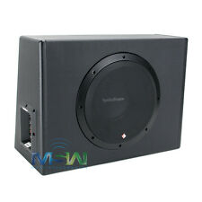 "ROCKFORD FOSGATE P300-10 PUNCH 10"" 600 WATT MAX AMPLIFIED SUBWOOFER ENCLOSURE"