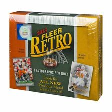 2013 Upper Deck Fleer Retro Football Hobby Box
