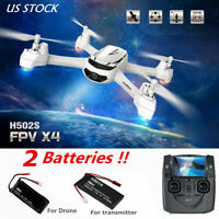 Hubsan H502S X4 Drone 5.8G FPV RC Quadcopter 720P HD Headless GPS RTH RTF USA