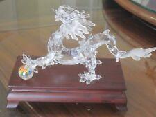 Genuine Limited Edition Swarovski Crystal Dragon Collectible, Factory Box