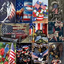 Diamond Art Painting Diy 5D Set Cross Stitch National Flag Cross Stitch Kits
