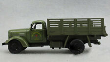 Diecast Military Jiefang truck Model 1:32 Car&light Sound Army Green Kids Toy