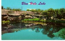 Santa Rosa, Nm - Blue Hole Lake At Fish Hatchery Postcard