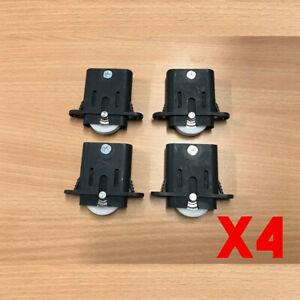x4 Sliding Security Screen Sliding Door Rollers Wheels Replacement DIY Parts
