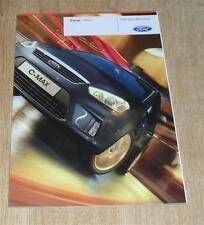 Ford Focus C-Max Brochure 2009 C Max - Style Zetec Titanium - 1.6 1.8 2.0 TDCI