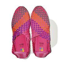 ZEE ALEXIS Women's Shoes Multi-Color Woven Comfort Slip-On Size 6.5 / 37
