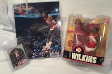 Dominique Wilkins Mcfarlane Action Figure Sports Package