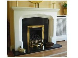 F10 Gothic Fire Surround in Plaster - BIRMINGHAM COLLECTION ONLY