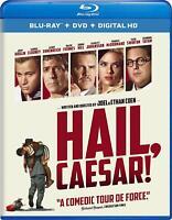 Hail Caesar! Blu-ray Disc DVD HD Movie George Clooney Bonus Features NEW Retail