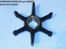 OMC JOHNSON EVINRUDE OUTBOARD ENGINE IMPELLER  40-45-50-55-60hp.replaces 389589