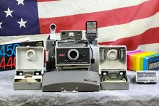 AAA Batteries Polaroid Land Camera 340 BUNDLE TESTED 250 replace Kits, Flash +++