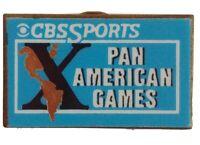 CBS Sports X Pan American Games Collectors Pin