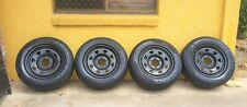 "17"" Sunraysia Rims with Pirelli Tyres 235/65 R17"