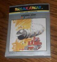 Emerson Arcadia 2001 BREAKAWAY video game Cartridge #17 w box manual catalog