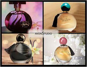 Avon FAR AWAY; GOLD; INFINITY; GLAMOUR; REBEL, DIVA SEALED 50ml
