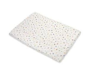 Carter's Quilted Plush 100% Cotton Playard Sheet - Animal Print NEW