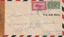 1944 Panama IIWW censored cover to Costa Rica