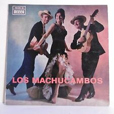 """33T LOS MACHUCAMBOS Vinyle LP 12"""" CORTES GAYOSO ZANOTTI - DECCA 164.051 Rare"""