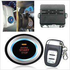 C3 Alarm System Security Audible alarm Ignition Engine Start Push Button Remote