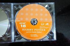 Harry Potter Deathly Hallows Audio Book CD DISC SPARE: EIGHTEEN 18 Stephen Fry