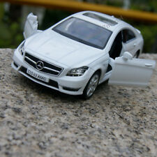 """Mercedes-Benz CLS63 AMG(C218) Model Cars 1:36 Alloy Diecast 5"""" Toys Gifts White"""