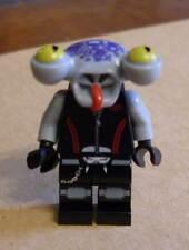 Lego Space Police 3 Alien - Squidtron Figur Monster schwarz Squitron Augen Neu