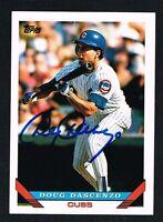 Doug Dascenzo #211 signed autograph auto 1993 Topps Baseball Trading Card