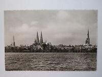 Lübeck - Blick über die Wakenitz auf Lübeck - 1960 / AK