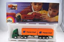 SIKU 3424 IVECO LKW Truck & CONTAINER Trailer in HAPAQ-LLOYD Livery MINT in Box