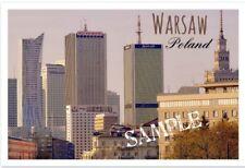 """Warsaw Poland - Travel - Souvenir - 2""""x3"""" Flexible Fridge Magnet #2"""