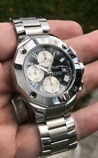 Baume & Mercier Riviera Chronograph XXL 43mm Swiss Automatic Bracelet Black