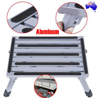 Aluminium Portable Folding Step Stool Caravan Accessories Ladder Camper Trailer