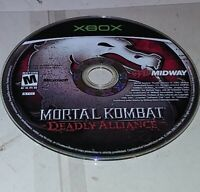 Mortal Kombat: Deadly Alliance Microsoft Xbox Disc only