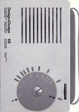 BRAUN Design Magazine Two Issues 67 & 68 Dieter Rams Apple Radios Arne Jacobsen