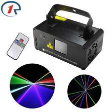 IR Remote RGB Laser Stage Lights DMX 3D Effect DJ Party Show DJ Projector Light