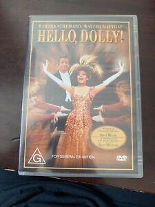 HELLO, DOLLY! (Barbra STREISAND Walter MATTHAU) Comedy Musical Film DVD Region 4