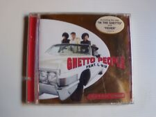 GHETTO PEOPLE feat L-VIZ : Ghetto Vibes - CD DANCE POOL 487341 2 neuf / blister