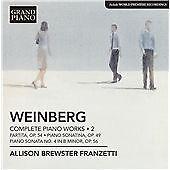 Allison Brewster Franzetti - Mieczyslaw Weinberg: Complete Piano Works, Vol. 2