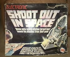 Vintage Chad Valley Tomy Electronic Shoot Out in Space Game 1978 Light Ray Japan