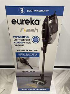 NEW EUREKA FLASH POWERFUL CORDED STICK VACUUM LIGHTWEIGHT CARPET FLOORS HDSV19
