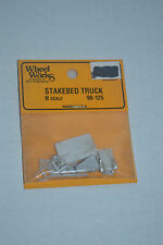 Wheel Works 96-125 Steak Bed Truck Metal Model Kits N scale