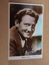 Film Star postcard Spencer Tracy Metro Goldwyn Mayer Real photo unposted