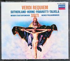 Georg SOLTI VERDI REQUIEM 2CD Luciano Pavarotti Joan Sutherland Marilyn Horne