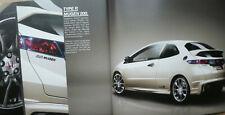 Superb 2010 Honda Civic Type R including Mugen 200 brochure - UK Market