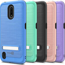 Magnetic Close KickStand Phone Case for Nokia C2 Tava / C2 Tennen Hard Cover